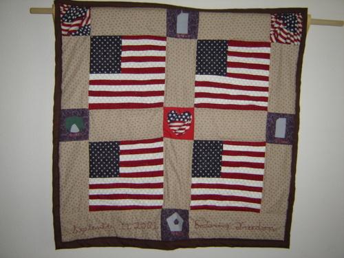 My 9/11 Quilt